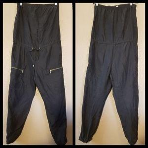 Michael Kors Black Sleeveless Romper Size M